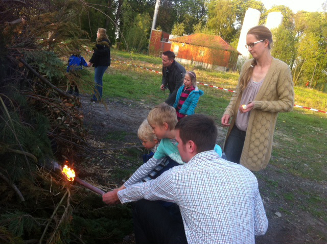 Osterfeuer 2014